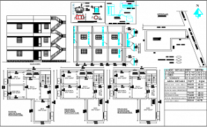 29'X39' G+2 blueprint plan of North facing 2bhk house plan as per Vastu Shastra is given in this drawing file.Download free Autocad DWG and PDF file format of this house plan.