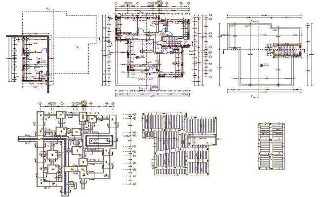 2 BHK House Plan With Working CAD Drawing