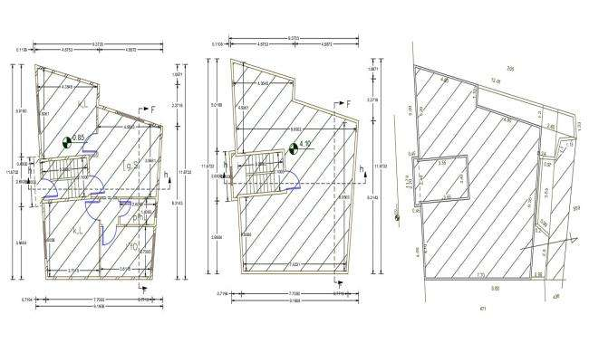 30 X 36 House Plan DWG File (120 square yards)