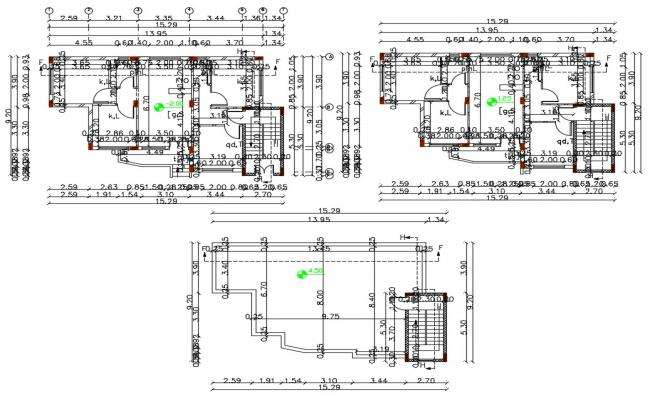 30 X 50 House Plan AutoCAD File (1500 square feet)
