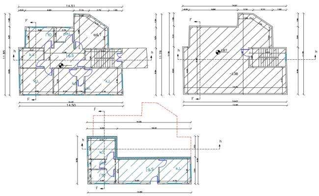 38 X 47 AutoCAD House Plan Design DWG File