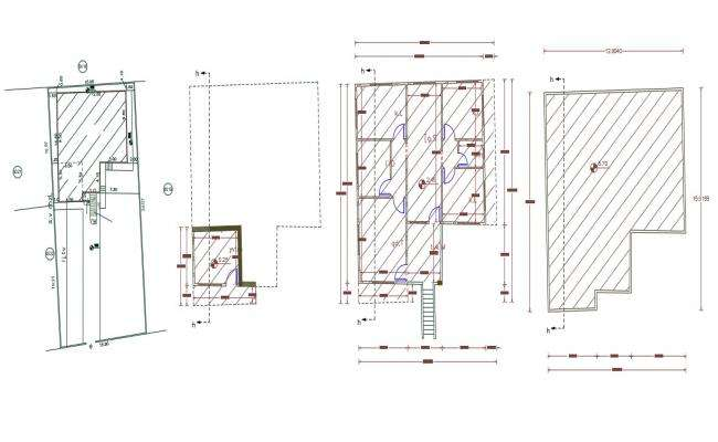 42 X 50 Feet House 3 BHK House Plan Design