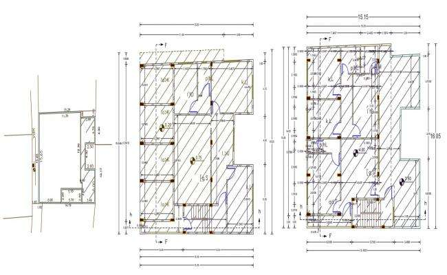50 X 50 AutoCAD House Plan Design DWG File