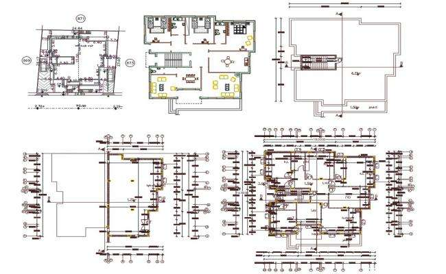 50' X 60' House Plan AutoCAD Drawing(333 Square Yards)