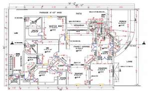 55'X78' House Floor Plan With Dimension CAD Drawing DWG File