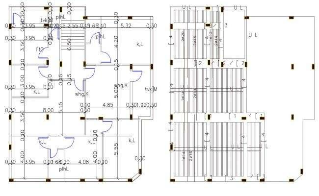 5 Bedroom House Construction Working Plan Design