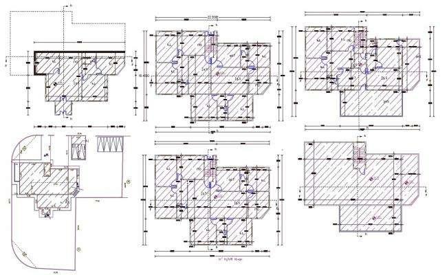 AutoCAD Apartment Floor Plan Design DWG File