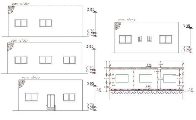 AutoCAD House Building Free Download DWG File