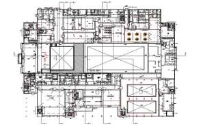 AutoCad drawing file having the plan of commercial building basement floor.Download the AutoCAD 2D DWG file. Thank you so much for downloading DWG file from cadbull website