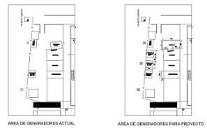 Autocad 2D DWG drawing is shows the Project for Generator Area Download this AutoCAD drawing file.