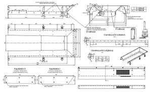 Belt conveyor of 2D Autocad model is given in this file.   Download the Autocad DWG file.