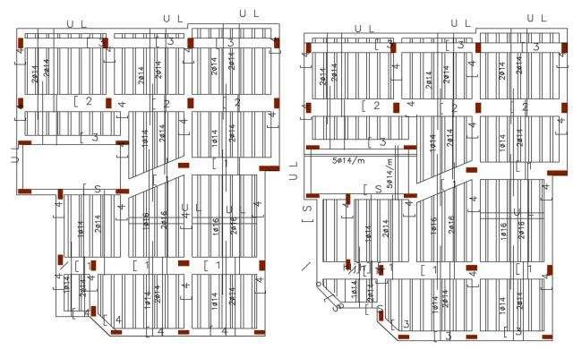 Concrete Slab Bar Structure Design Free DWG file