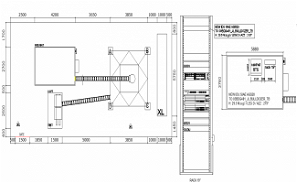Free Download Transition Cable Tray Design AutoCAD File