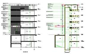 Details of wall sections were given in this Autocad DWG drawing file.  There are two wall sections were given in this file.  Download the Autocad DWG drawing file.