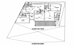 2 Storey House Electrical Layout Plan With Legend Note CAD