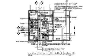 Electrical machine typical section details are given in this DWG CAD Drawing. Download the AutoCAD file now.
