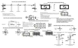 File has the cable connection in the form of 2D Autocad DWG drawing file. Download the DWG drawing file.