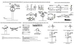 File shows the cable connection details in 2D Autocad DWG drawing model.   Download the Autocad DWG file.