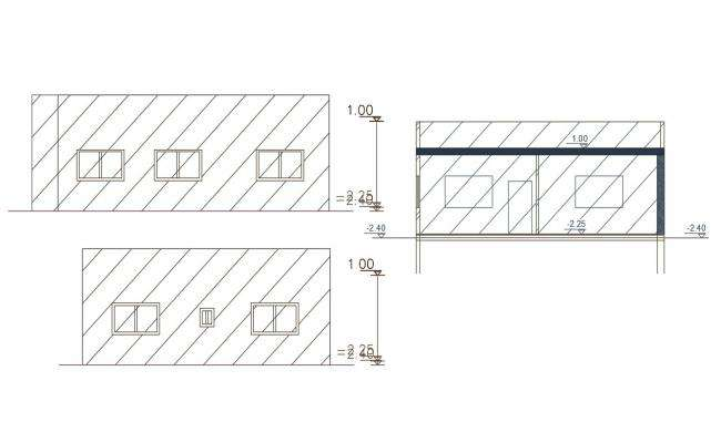 Free AutoCAD File Of House Building Design