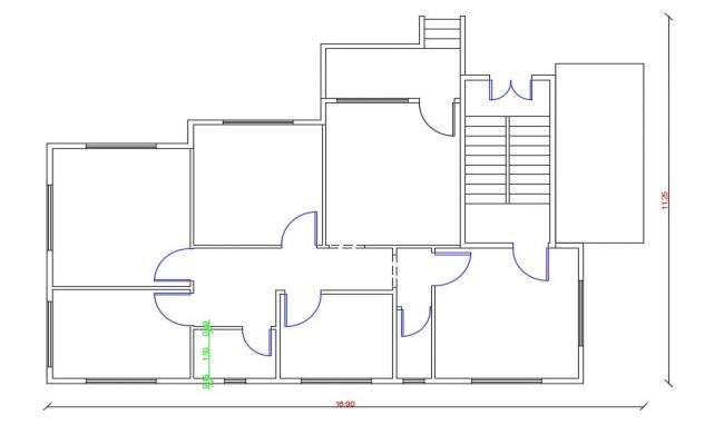 Free Download AutoCAD House Plan Design