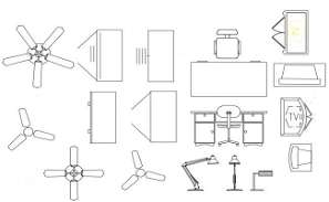 Smoke And Heat Detector Mounting CAD Drawing DWG File