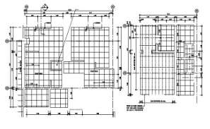 Office floor Typical section is given in this AutoCAD DWG drawing. Download the AutoCAD 2D DWG file.