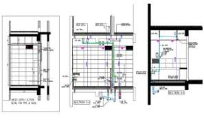 Plan of water connection of Inspire business park is given in 2D Autocad DWG drawing file.  Download the DWG file.