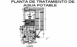 Isometric view of plumbing riser and HVAC plan dwg file
