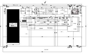 Size of office building is 288mx150m is given in 2D Autocad DWG drawing file.  Download the DWG Autocad file.