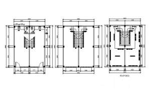 Staircase detail drawing provided in this Autocad file. Download this 2d Autocad drawing file.