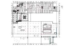 The AutoCad 2D drawing file having the Footing Plain Concrete Plan - Shop Drawing .Download the AutoCAD 2D DWG file.