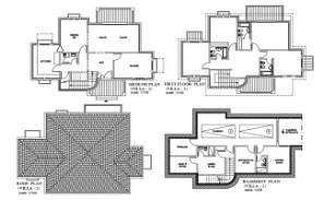 The DWG AutoCad 2D drawing file having the Individual villa floor plan with Basement two car park facilities(Residential Villa House Floor Plan)..Download the AutoCAD 2D DWG file.
