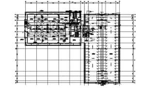 The office building Typical section is given in this AutoCAD DWG drawing. Download the AutoCAD 2D DWG file.