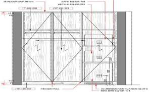 The wardrobe front elevation drawing detail is given in this cad file.Download this 2d Auto-cad drawing file.
