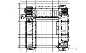 Typical section details of the industry building floor plans are given in this DWG CAD Drawing.Download the AutoCAD file now.