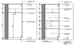 Wardrobe Section detail and side elevation is shown in this cad drawing file.Download this 2d AutoCAD drawing file.