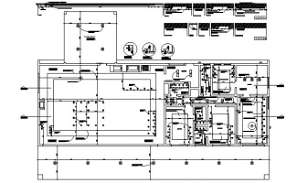 Working drawing detail of the site layout given  in this AutoCAD DWG Drawing File. Download the Auto Cad 2D DWG file now.