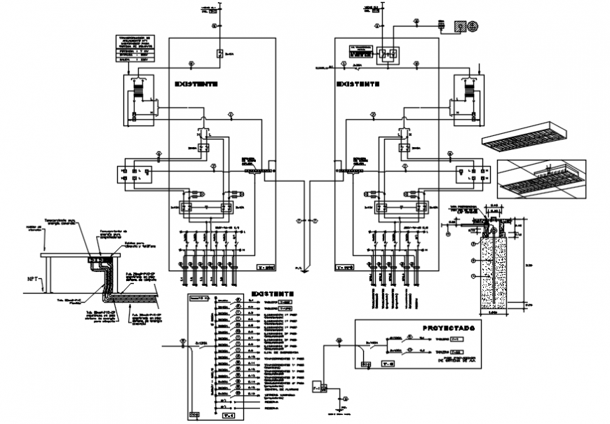 Electrical Layout Plan  Installation And Riser Diagram