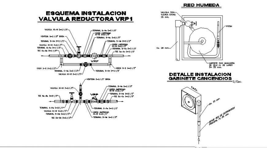 Canal Section  Plan  Dissipation Box And Irrigation System Details Dwg File