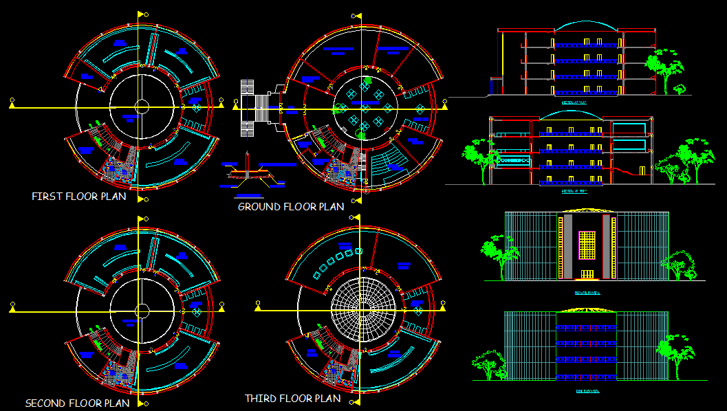 Museum Design Cad Drawings Are Given In This Cad File Now Download This Cad File Now Cadbull