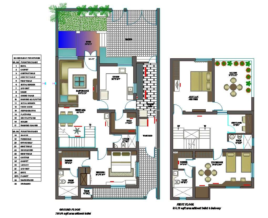 800 Square Feet House Design