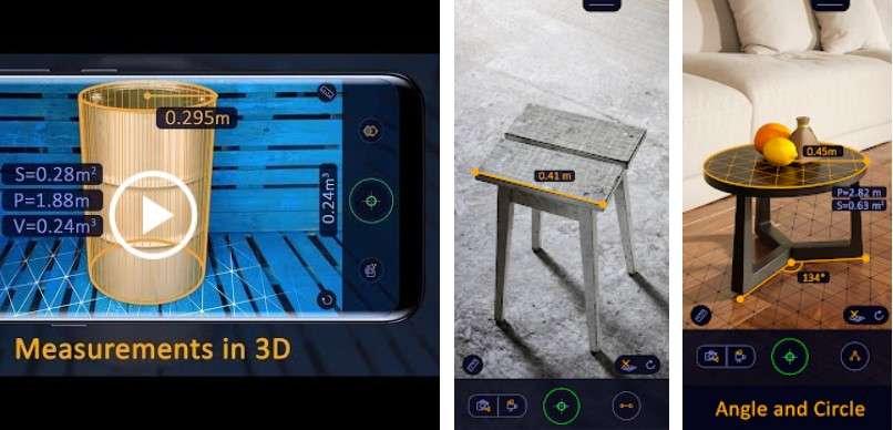 Ar Ruler App Tape Measure Camera To Plan Cadbull
