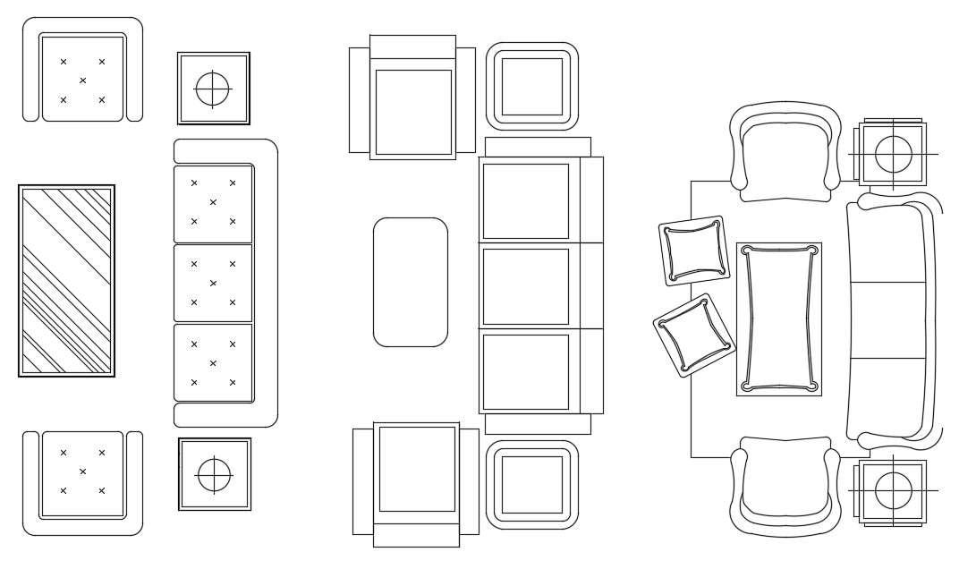 Autocad Living Room Furniture Model Drawing Cad Blocks Cadbull