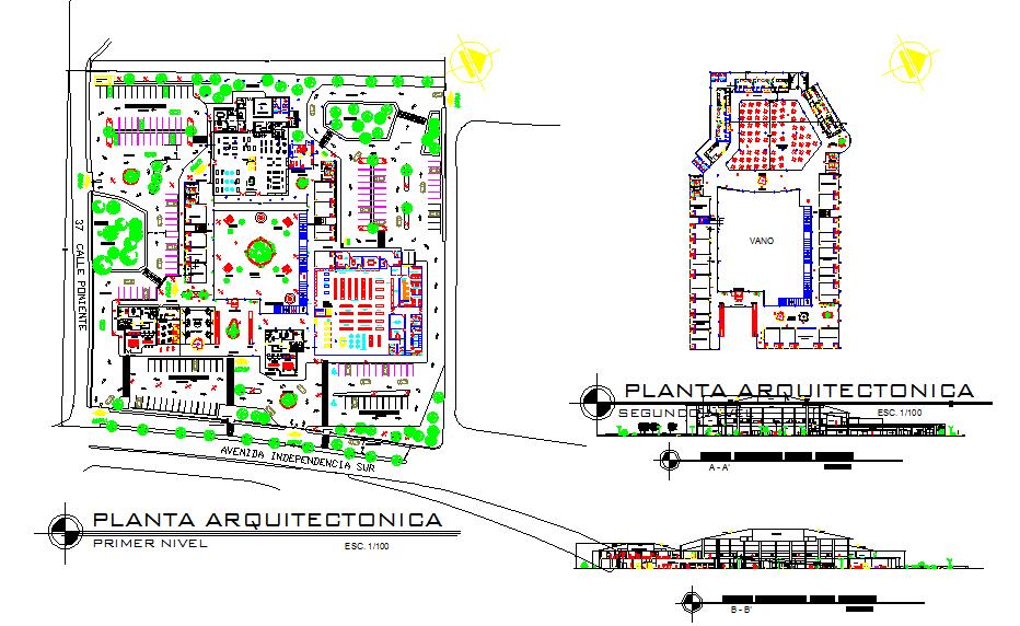 Bus Terminal Design Concept Plans Cadbull