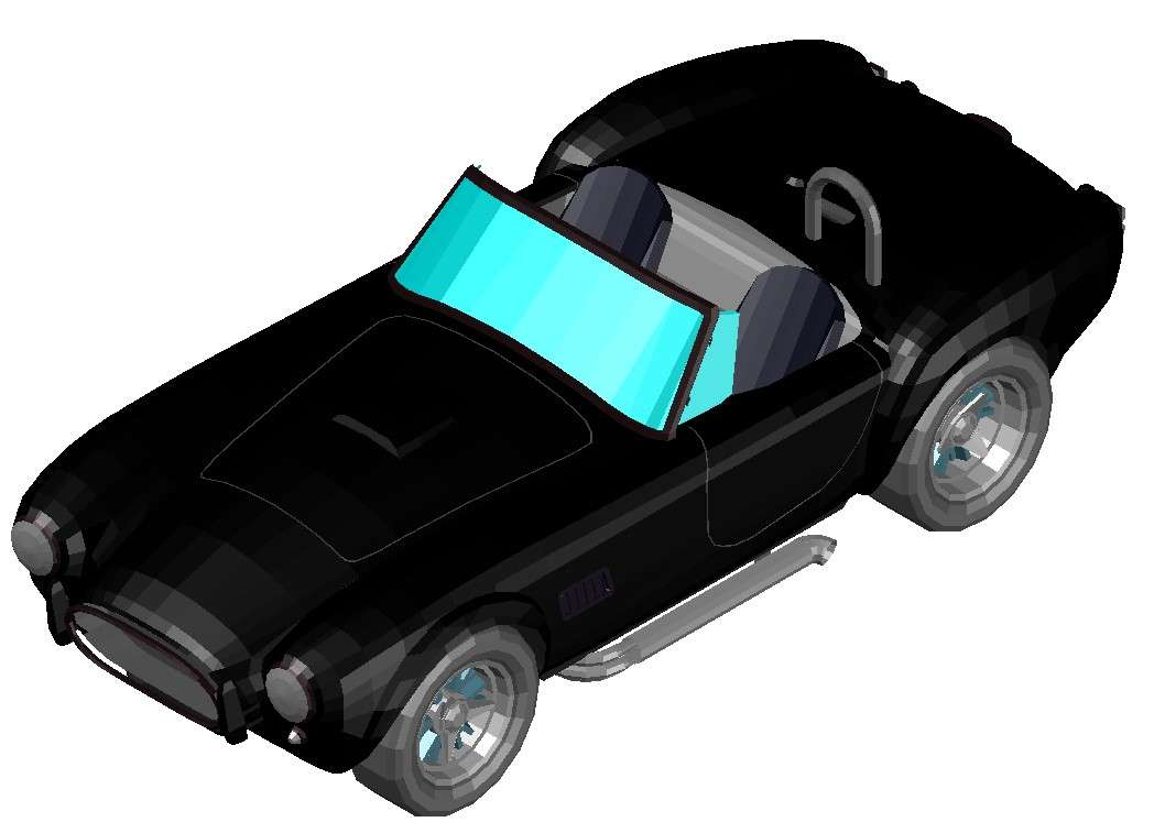 Make a 3d model of a car online for download free