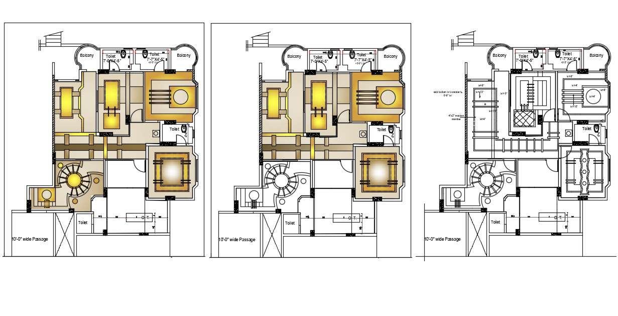 Ceiling Plan Design Download CAD file - Cadbull
