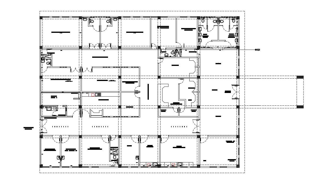 Commercial Building Floor Plans Free Download Cadbull