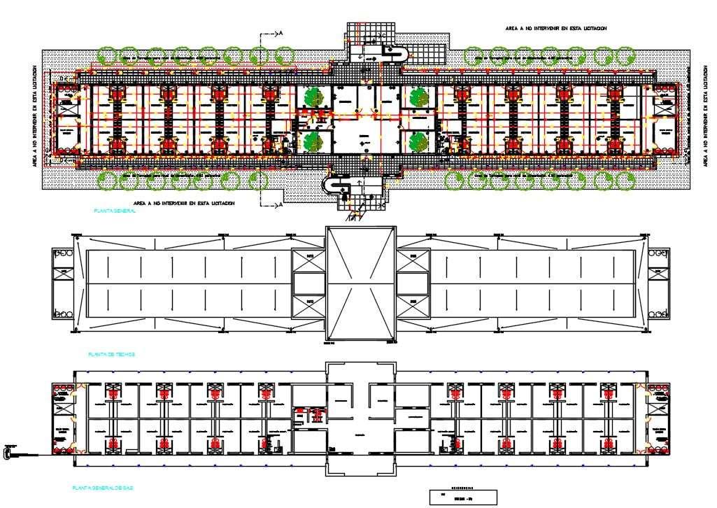 Dormitory Floor Plan With Plumbing Drawing Dwg File Cadbull