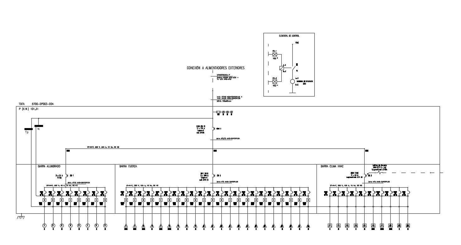 Electric Circuit Diagram Dwg Free Download