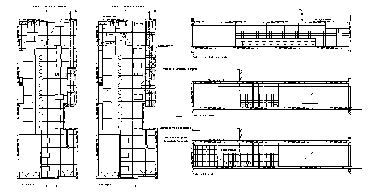 Enlarged Floor Plan Of Café Detail Drawing Presented In This Autocad File Download This 2d Autocad Drawing File Cadbull